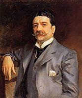 Portrait of Louis Alexander Fagan, 1893, sargent