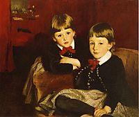 Portrait of Two Children, 1887, sargent