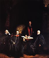 Professors Welch, Halsted, Osler and Kelly (also known as The Four Doctors), sargent