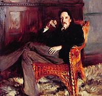 Robert Louis Stevenson, 1887, sargent