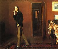 Robert Louis Stevenson and his wife, 1885, sargent