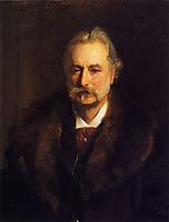 Sir George Lewis, 1896, sargent