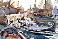 Sketching on the Giudecca, 1904, sargent