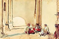 A Spanish Barracks, 1906, sargent