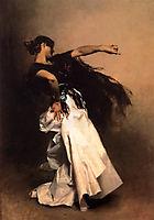 Spanish Dancer, 1880-1881, sargent