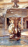 Spanish Fountain, 1912, sargent
