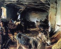 Stable at Cuenca, 1903, sargent