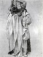 Study of Ezekiel for Frieze of the Prophets, c.1891, sargent
