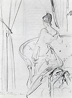 Study for Madame X, c.1882, sargent