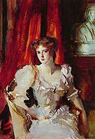 Sybil Frances Grey, later Lady Eden, 1905, sargent