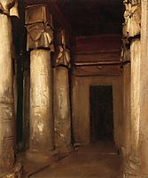 Temple of Denderah, 1891, sargent