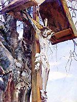 Tyrolese Crucifix, c.1911, sargent