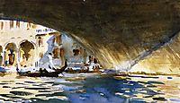 Under the Rialto Bridge, c.1909, sargent