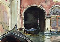 Venetian Canal, sargent
