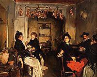 Venetian Wineshop, 1898, sargent