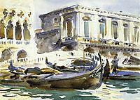 Venice: The Prison, 1903, sargent