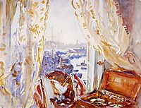 View from a Window, Genoa, c.1911, sargent