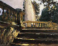 Villa Torlonia Fountain, 1907, sargent