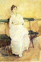 Violet Sargent, 1887, sargent