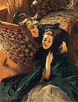 Violet Sargent and Flora Priestley, 1889, sargent