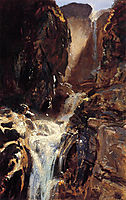 A Waterfall, 1910, sargent