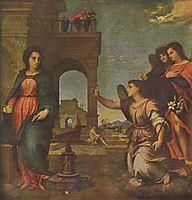 The Annunciation, 1513, sarto