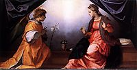 The Annunciation, c.1528, sarto