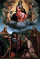 Assumption of the Virgin, 1530, sarto