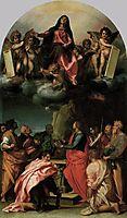 Assumption of the Virgin, 1529, sarto