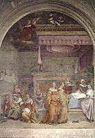 The Birth of the Virgin, 1513, sarto