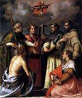 Disputation on the Trinity, 1517, sarto