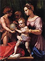 Holy Family (Borgherini), c.1529, sarto