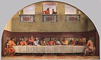 The Last Supper (detail), 1525, sarto