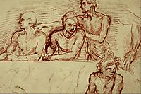Last Supper (study), 1525, sarto