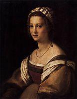 Lucrezia di Baccio del Fede, the Artist-s Wife, 1514, sarto