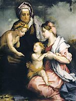 Madonna and Child with St. Elizabeth and St. John the Baptist, c.1529, sarto