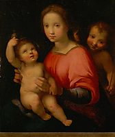 Madonna and Child with St. John the Baptist, sarto