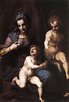 Madonna and Child with the Young St. John, c.1518, sarto