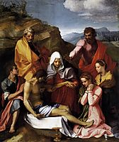 Pietà with Saints, 1524, sarto