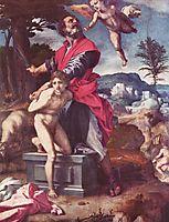 The Sacrifice of Abraham, c.1528, sarto