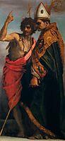 Sts John the Baptist and Bernardo degli Uberti, 1528, sarto