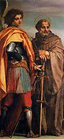 Sts Michael and John Gualbert, 1528, sarto