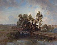 After the storm, c.1870, savrasov