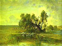 After a Thunderstorm, c.1875, savrasov