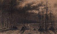 Autumn night, 1872, savrasov