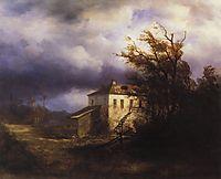 Before the Storm, 1850, savrasov