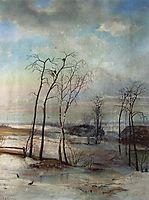 Breath of spring, c.1890, savrasov