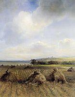 By late summer, on the Volga, 1873, savrasov