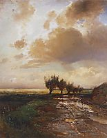 Country road, 1873, savrasov