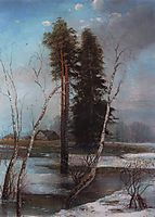 Early Spring, 1888, savrasov